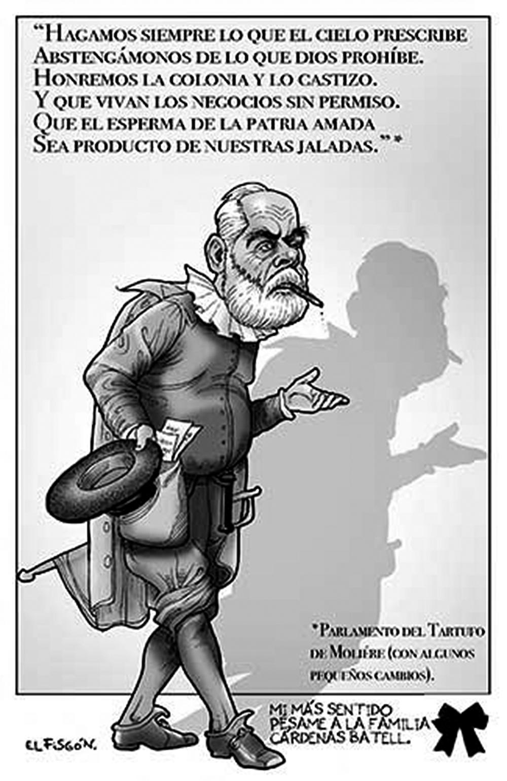 TARTUFERNÁNDEZ DE CEVALLOS | Fisgón