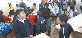 Desayunador para  alumnos de la escuela primaria Ulises Irigoyen