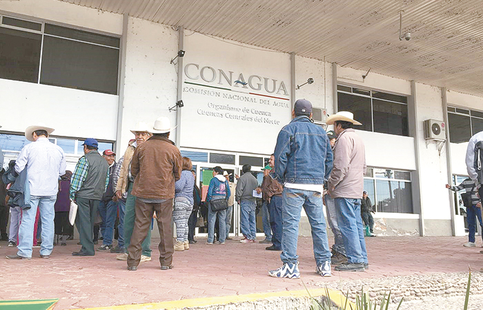 Exigen campesinos salida de Óscar Gutiérrez de Cuencas Centrales