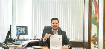 David Pérez Tejada Padilla, administrador Aduana Marítima de Ensenada
