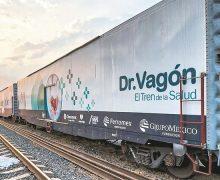 """Por tercera ocasión, """"El Tren de la Salud"""" regresa a Mexicali"""