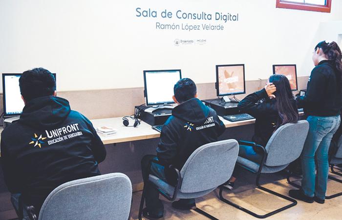 Primera Sala de  Consulta Digital al servicio de la comunidad