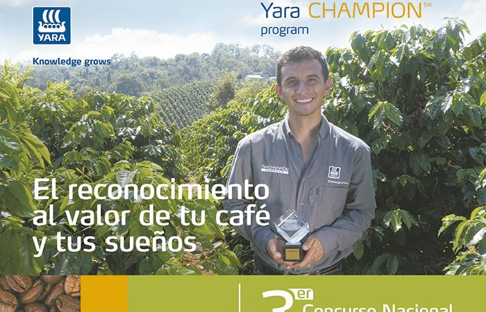 Yara Champion Program Coffee, reconoce el valor de tu café y tus sueños