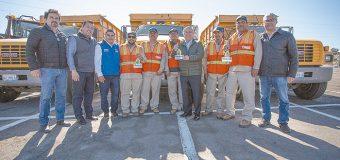 Alcalde entregó maquinaria y equipo para obras y servicios públicos