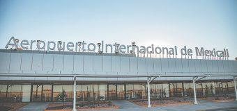 Constante crecimiento  del aeropuerto de Mexicali