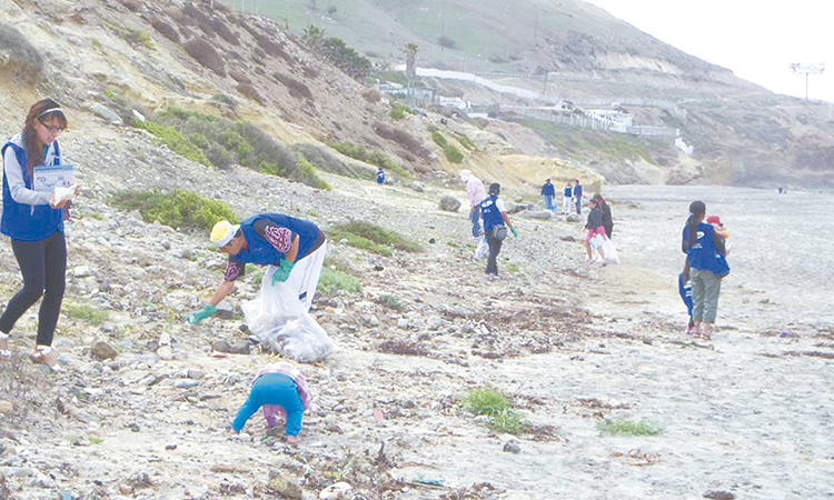 Retiran de playas de Tijuana  700 kilogramos de basura