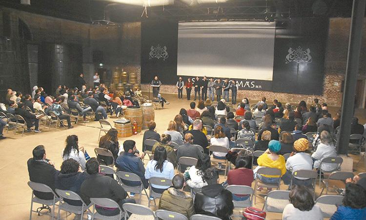 Marco Novelo inauguró la 65 muestra  internacional de Cine