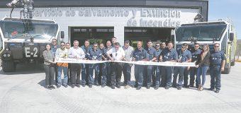 Moderna estación de bomberos en aeropuerto de Los Cabos