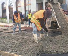 Aplica Gobierno de Marco Novelo concreto hidráulico en la Ryerson