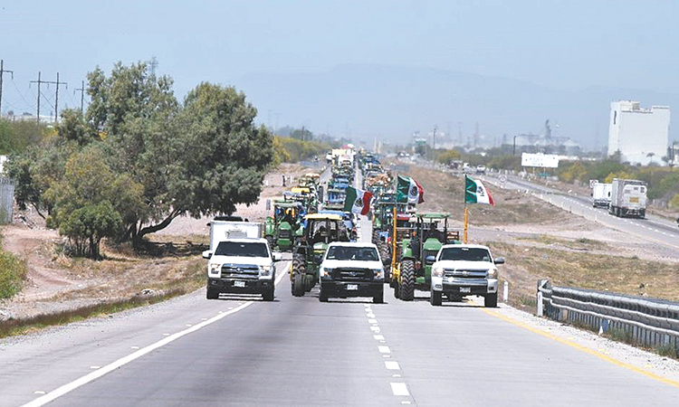 Productores se movilizan para exigir buena comercialización de granos