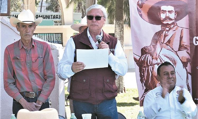 Vigentes los ideales de Zapata en BC: Bonilla