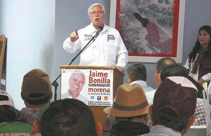 Campesinos piden a Bonilla liderazgo desde el gobierno