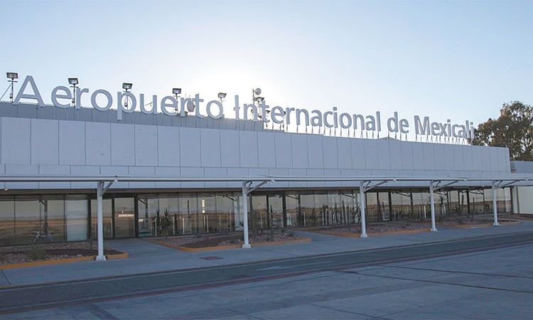 El Aeropuerto de Mexicali reduce una vez más sus tarifas