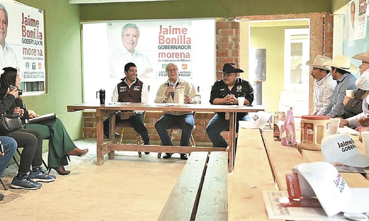 Vamos a limpiar Gobierno de BC como las escaleras: Bonilla