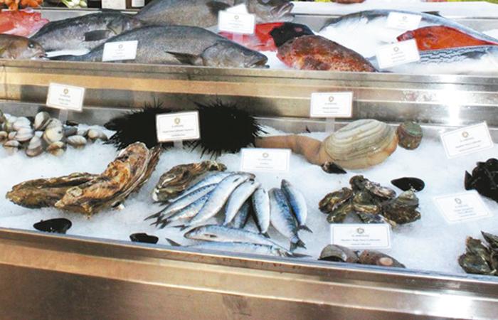 Sello de garantía de pescados y mariscos