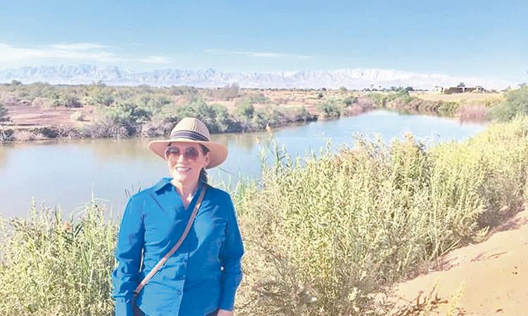 Elvira Luna va por el rescate del sistema  lagunar de Mexicali