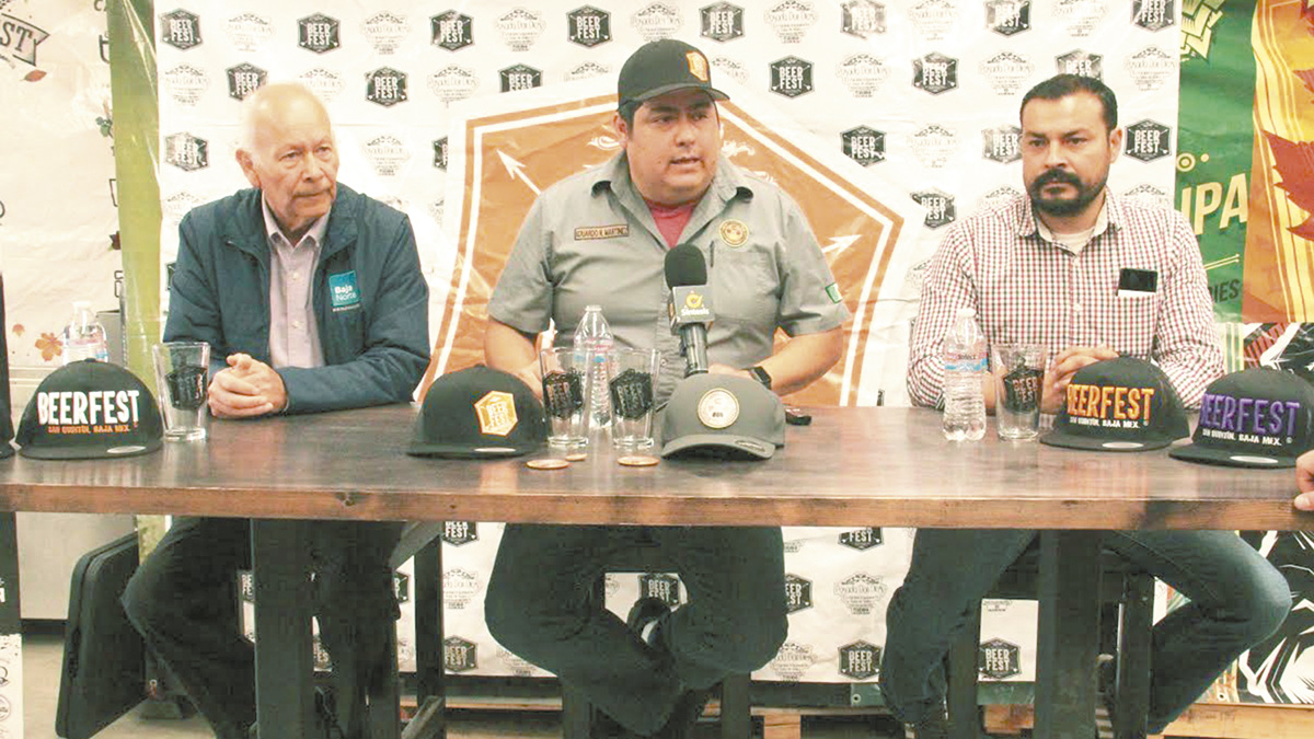 """Vendimia de ostiones y """"Beer Fest"""" en San Quintín"""