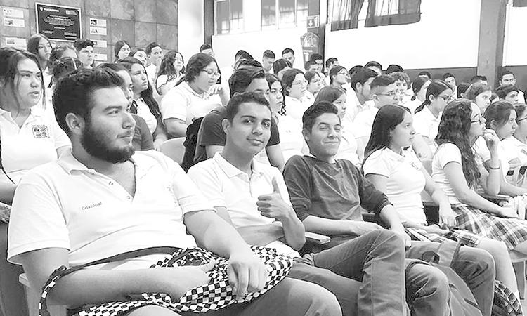 Conferencia para alumnos del Cobach Km. 43