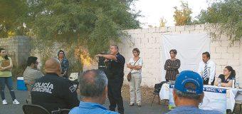 En Jardines de San Marcos, comité de  vecinos impulsan acciones de seguridad