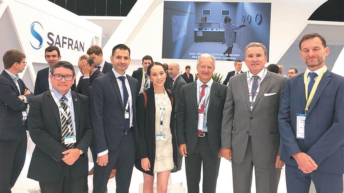 Safran es principal empleador del sector aeroespacial en BC