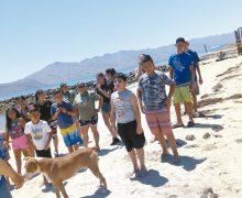 Promueven cuidado  ambiental en Bahía  de los Ángeles