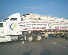 Productores reclaman apoyos; AMLO descalifica a sus lideres