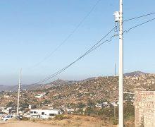 Inauguran  obras de  electrificación  en Tecate