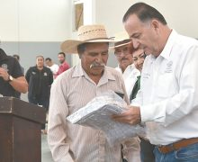 Beneficio a residentes del sur de Ensenada; Novelo