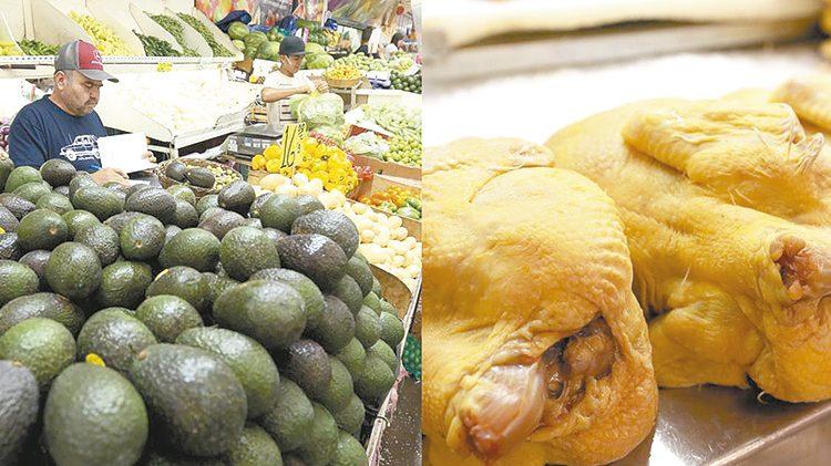 No hay justificación para aumento de precios en aguacate y pollo: Sader