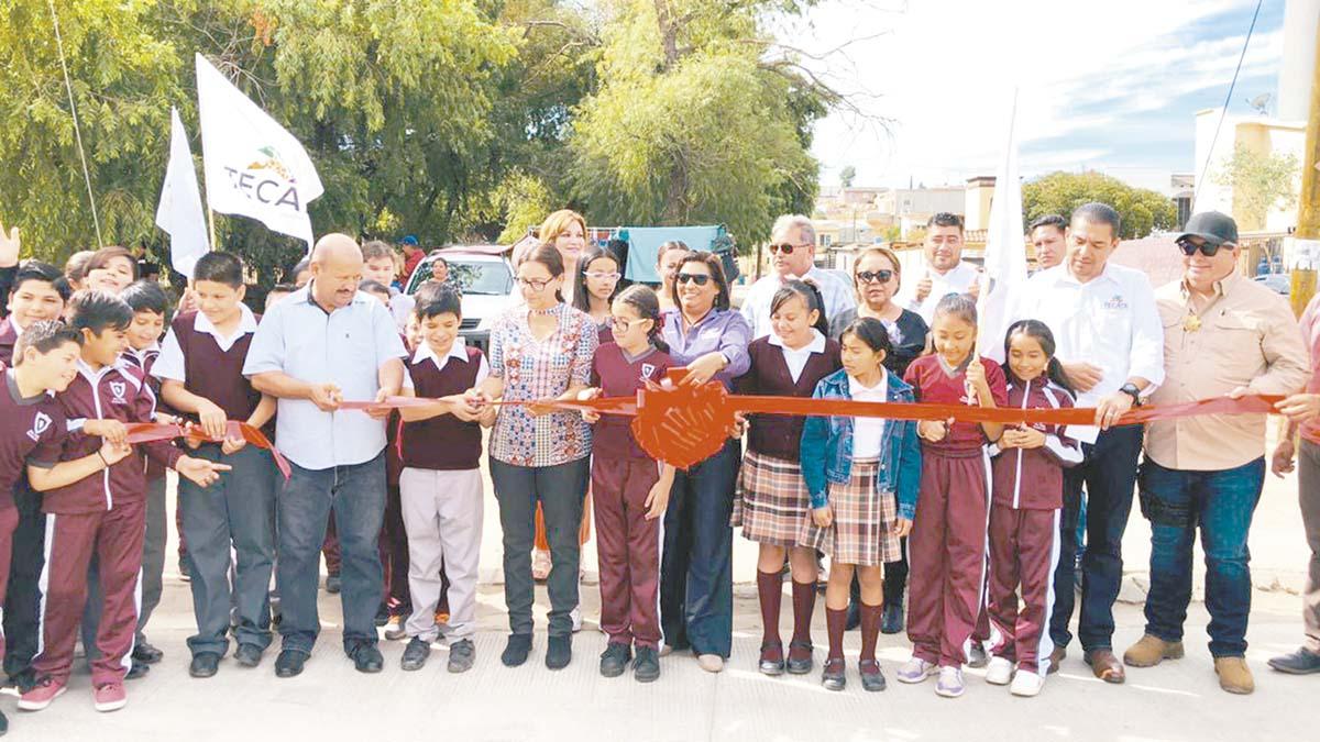 Ayuntamiento de Tecate rehabilitó vialidades