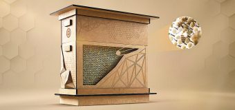 Panales a base de pajillas para preservar a las abejas