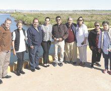 Periodistas de Fapermex,  en el valle de Mexicali