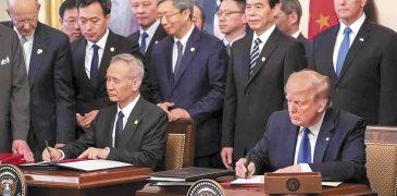 EU y China firman una tregua  preliminar en su guerra comercial