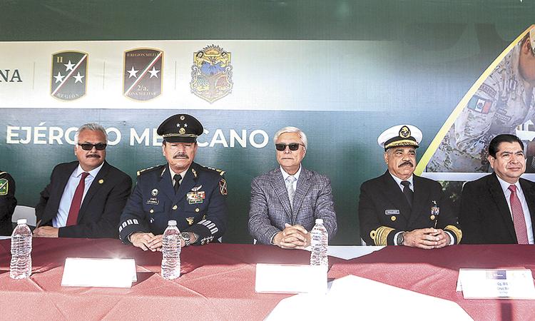 Ejército mexicano garante de la seguridad de los bajacalifornianos: Bonilla