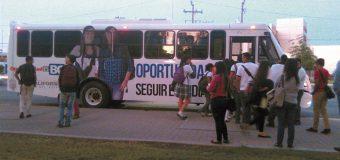 Reanudan transporte escolar en el valle de Mexicali; Injuve