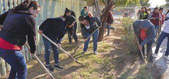 """""""Un día por tu plantel"""" en Cobach Cd. Morelos"""