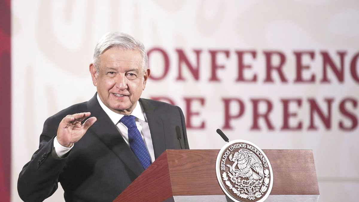 """""""No entreguen despensas, mejor bájenle"""": López Obrador"""