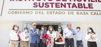 Inaugura Bonilla Instituto  de Movilidad Sustentable