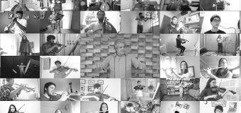 Cachanillas en concierto de la orquesta virtual iberoamericana