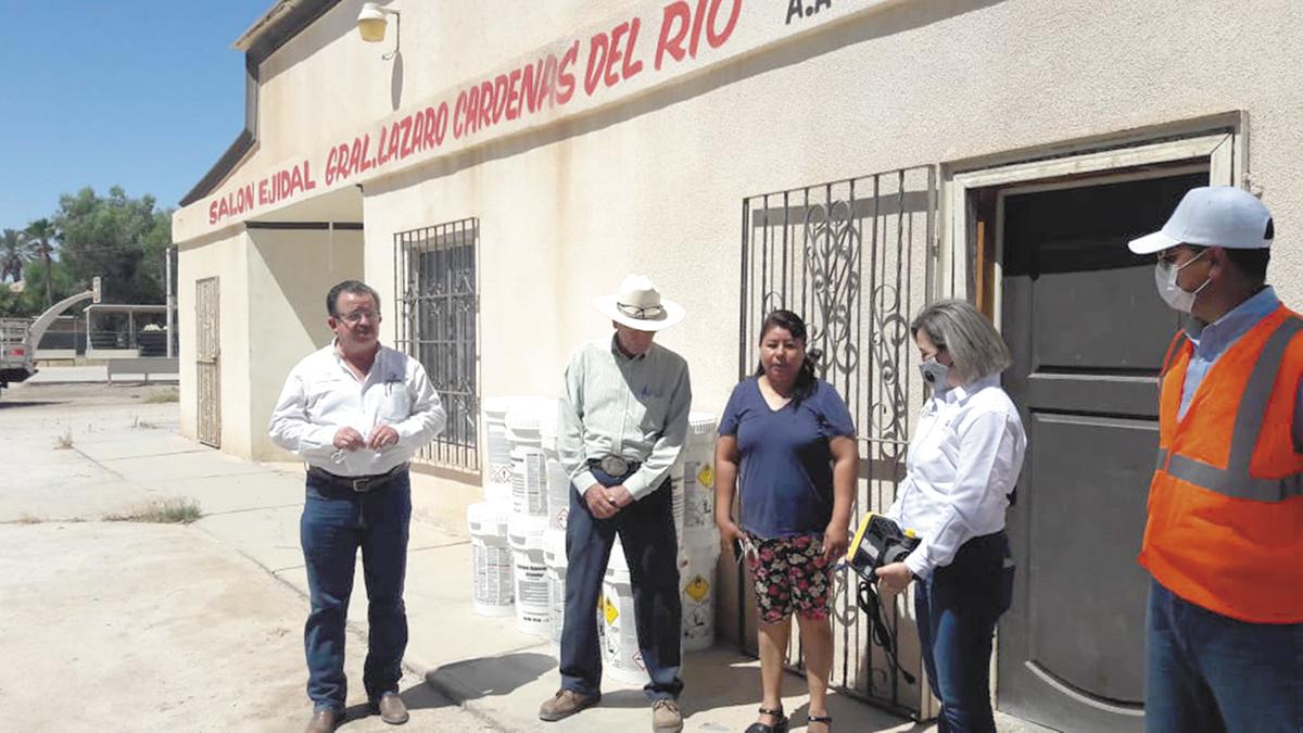 CESPM atiende a residentes del  ejido Quintana Roo