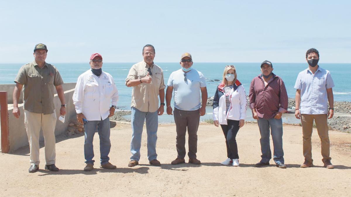 Para consolidar obras portuarias. 6.4 mdp ejido Erendira