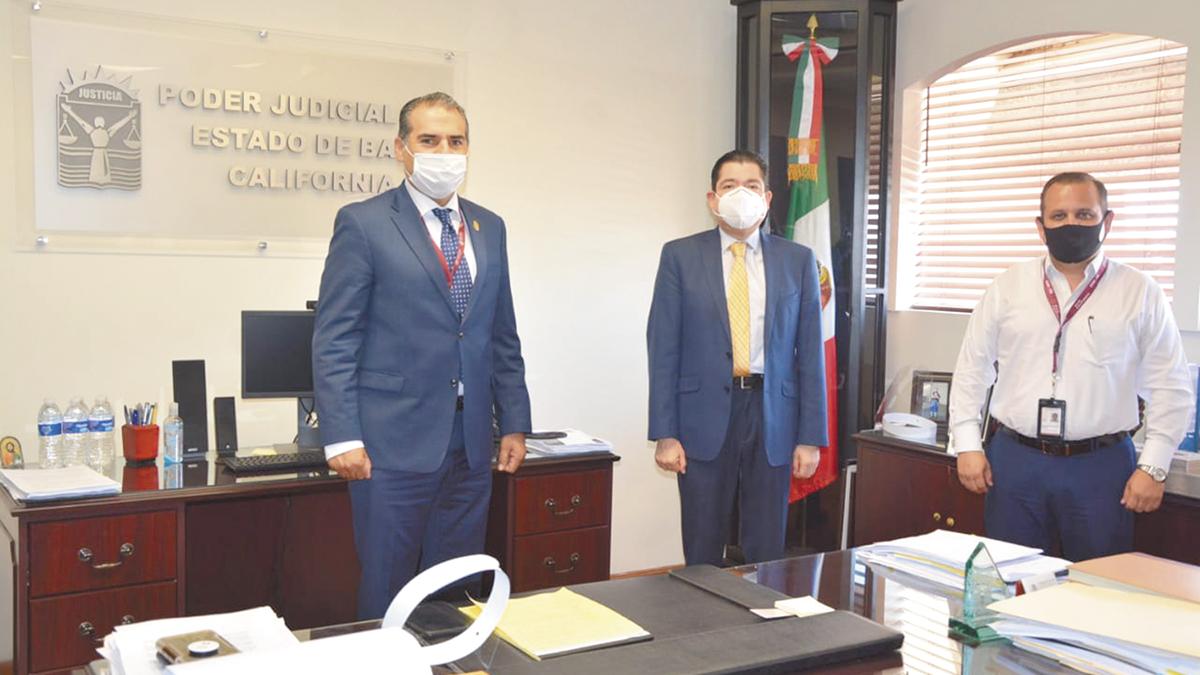 Secretaría de Salud y Tribunal analizan apertura de juzgados