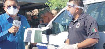 Diputado Melendrez inmerso en combate al Covid-19 en el valle