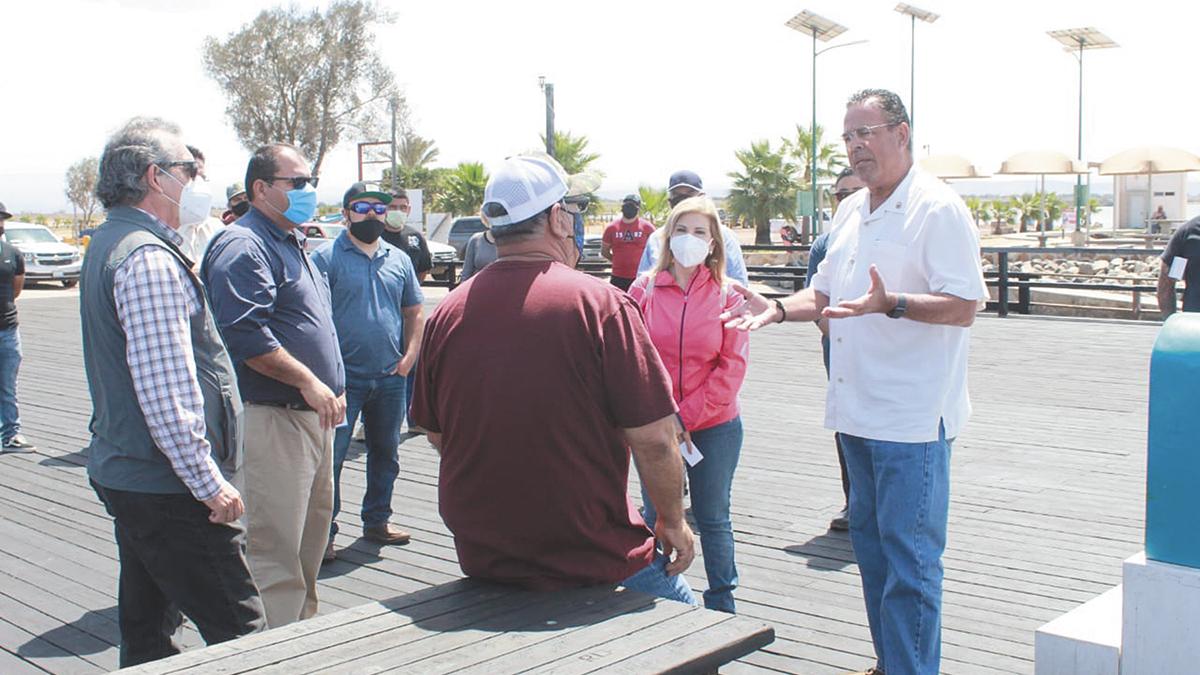 """Se atendió al sector pesquero de """"El Rosario""""; Mario Escobedo"""
