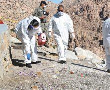 COEPRIS investiga origen desechos médicos tirados en La Rumorosa