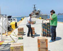 En Isla de Cedros inicia distribución de libros de texto en BC