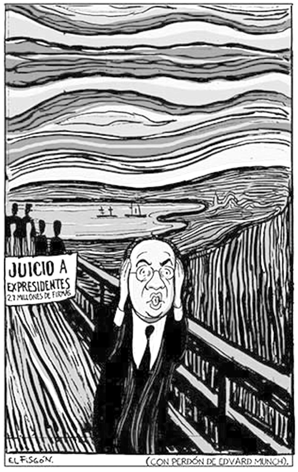EL GRITO DE CALDERÓN-Fisgón