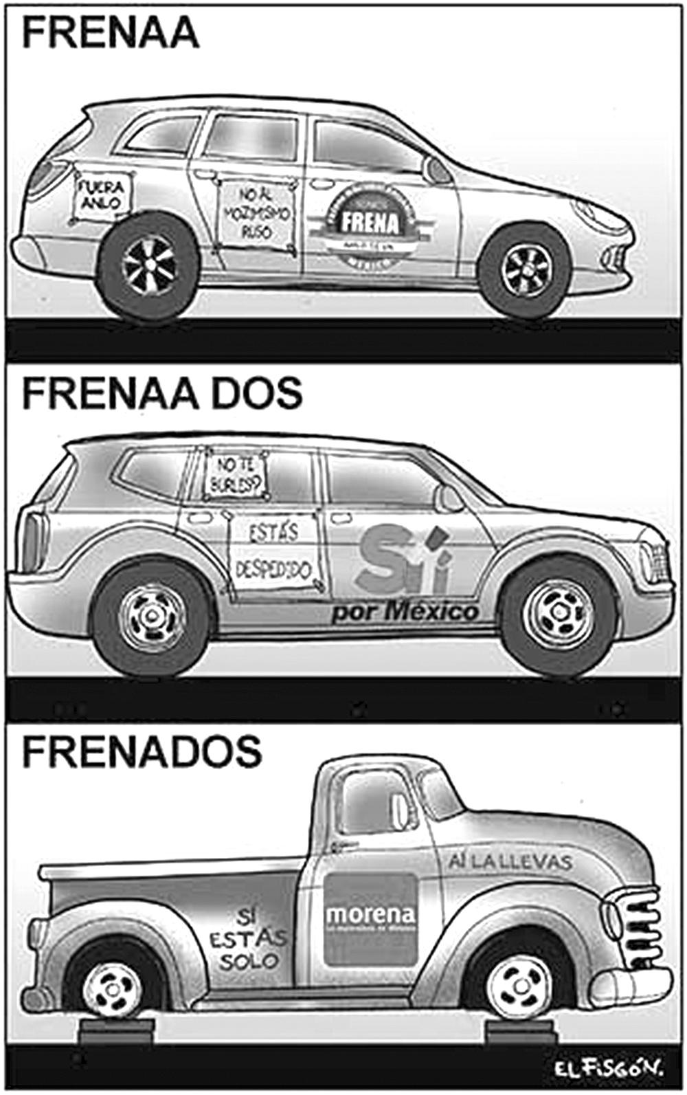 COSAS QUE NO CAMINAN-Fisgón