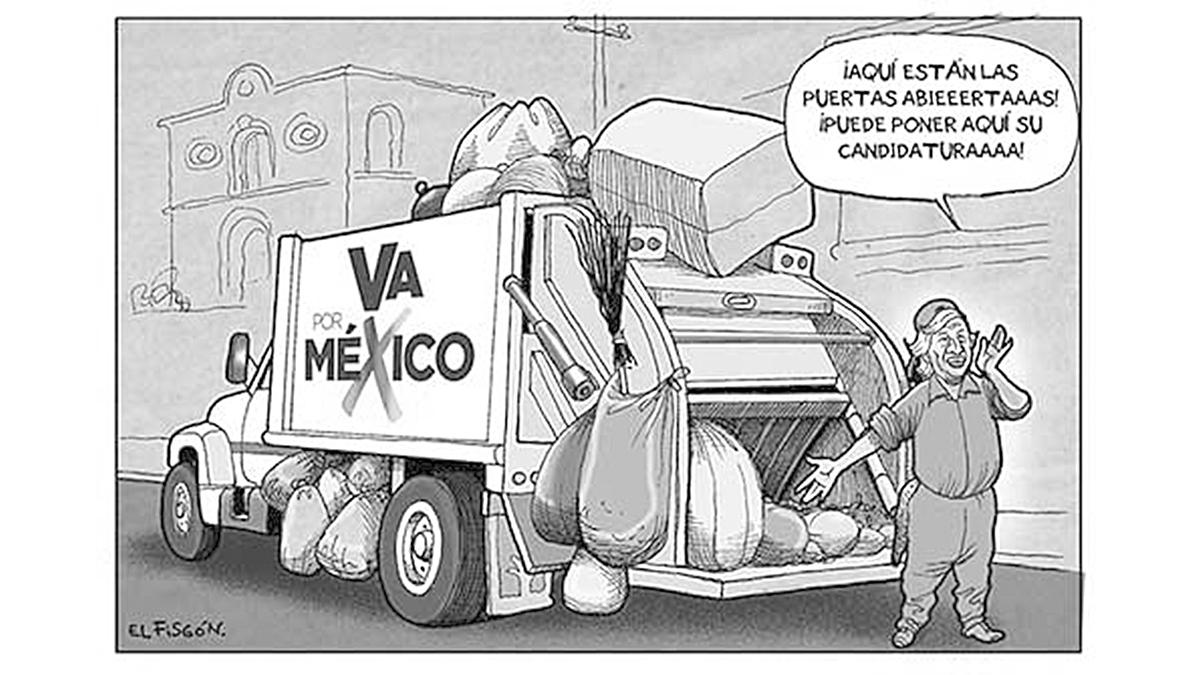 SE RECOGEN CANDIDATOS | Fisgón