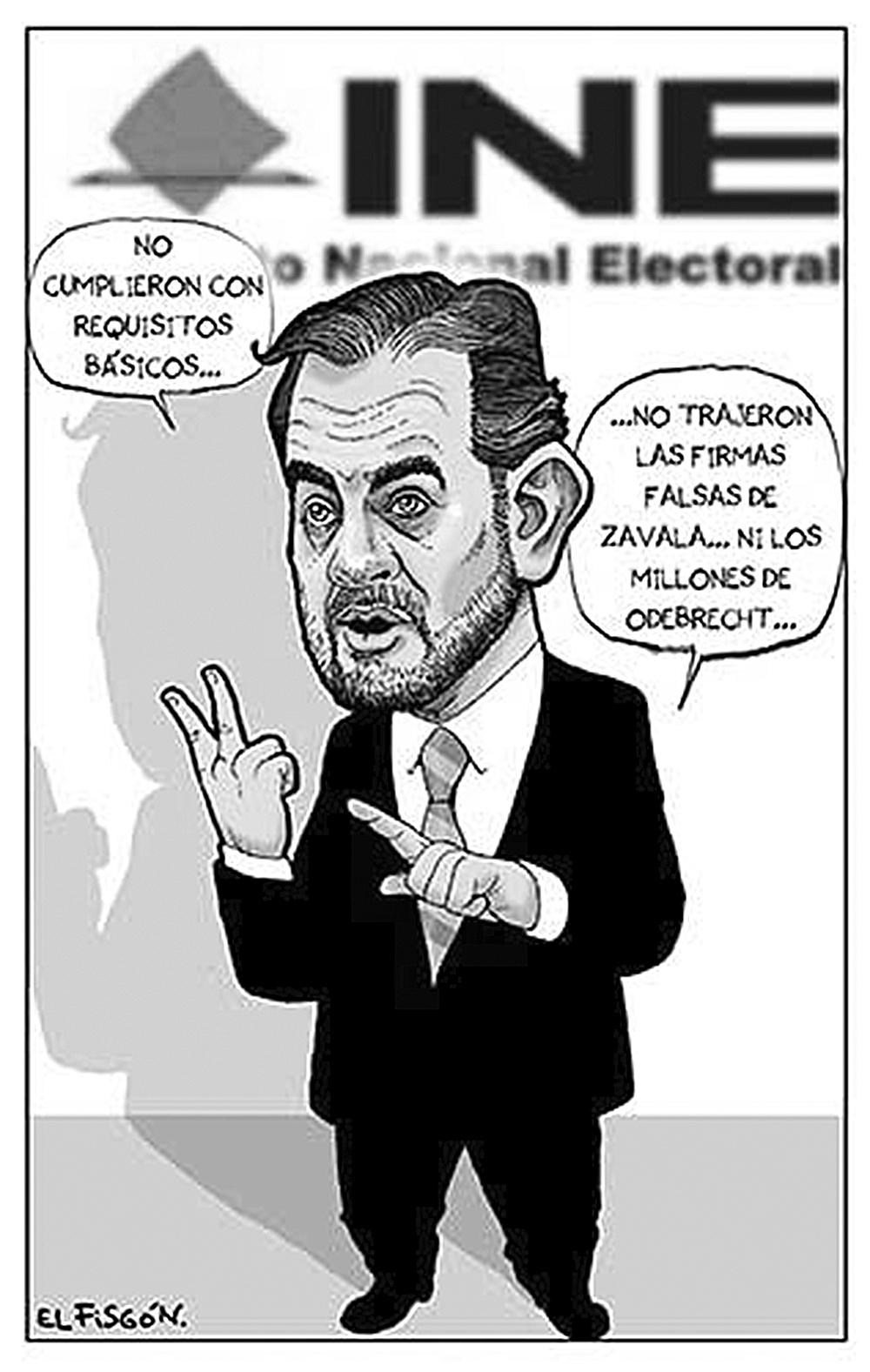 CANDIDATURAS CANCELADAS | Fisgón